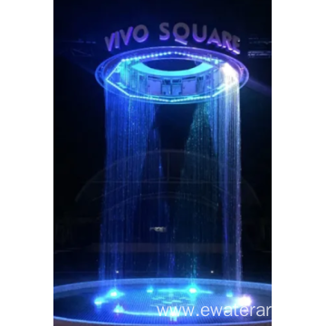 Outdoor Attractive Decoration Digital Water Curtain